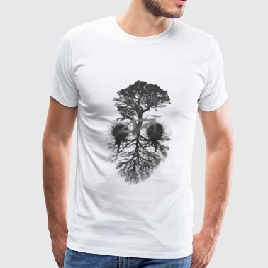 bike groot - Men's Premium T-Shirt