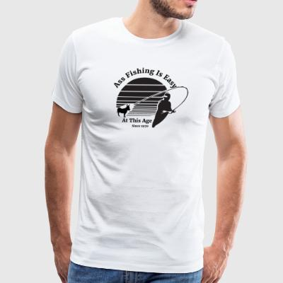 Ass Fishing Since 1970! - Men's Premium T-Shirt