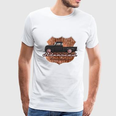 Advance Black Truck - Men's Premium T-Shirt