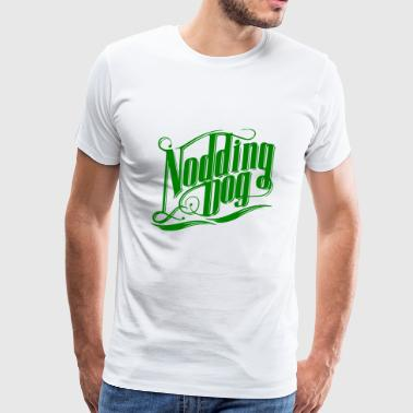 GIFT - NODDING DOG GREEN - Men's Premium T-Shirt
