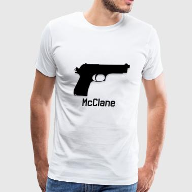 Bearing Arms - McClane - Men's Premium T-Shirt