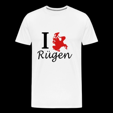 I love Ruegen - Men's Premium T-Shirt