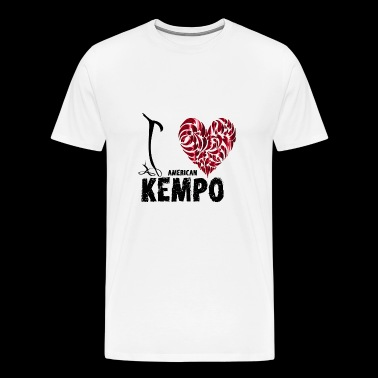 I Love American Kenpo - Men's Premium T-Shirt