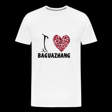 I Love baguazhang - Men's Premium T-Shirt
