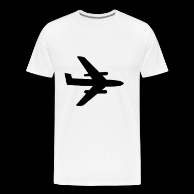 Plane Airplane Flugzeug Aircraft Jet - Men's Premium T-Shirt