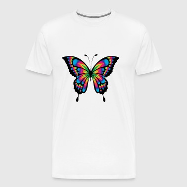 butterfly colorful - Men's Premium T-Shirt