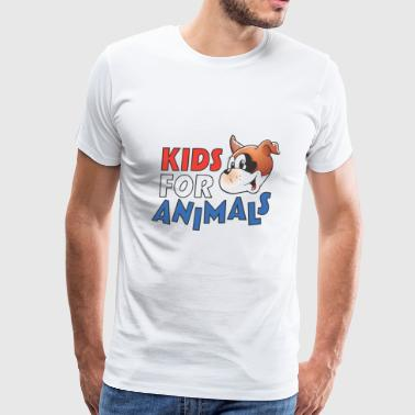 Kids For Animals - Men's Premium T-Shirt