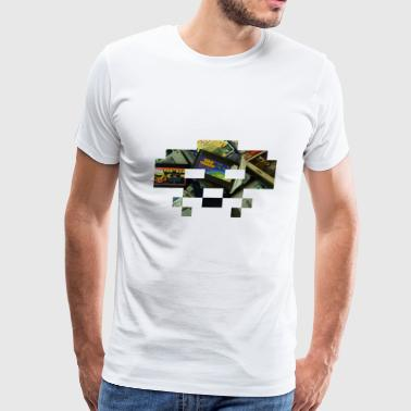 Space Tokyo Retrogaming Session V - Men's Premium T-Shirt