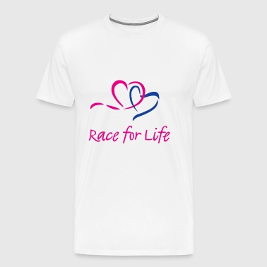 RACE FOR LIFE - Men's Premium T-Shirt
