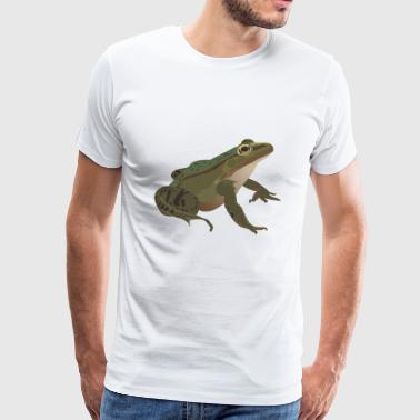 Frog Gift Present Animal Mister - Men's Premium T-Shirt