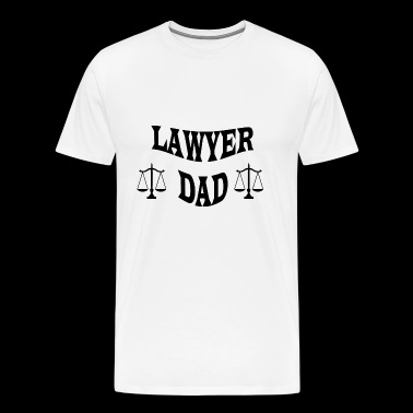 LAWYER DAD - Men's Premium T-Shirt