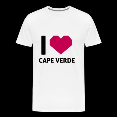 I Love Cape Verde - Men's Premium T-Shirt