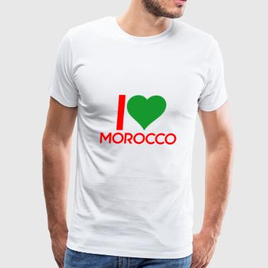 I love Morocco - Men's Premium T-Shirt