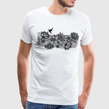 Lace - Men's Premium T-Shirt