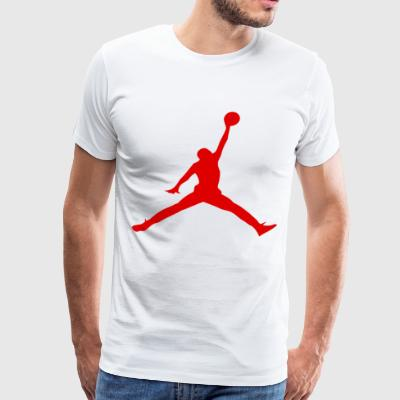 Juko Jordan Basketball Michael Bulls - Men's Premium T-Shirt