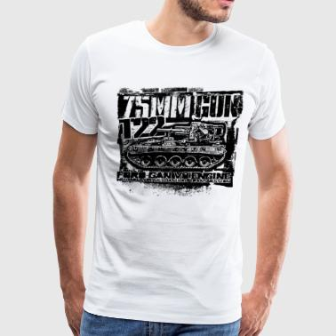 75mm gun T22 - Men's Premium T-Shirt