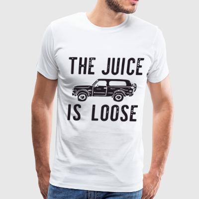 THE JUICE IS LOOSE T-SHIRTS - Men's Premium T-Shirt