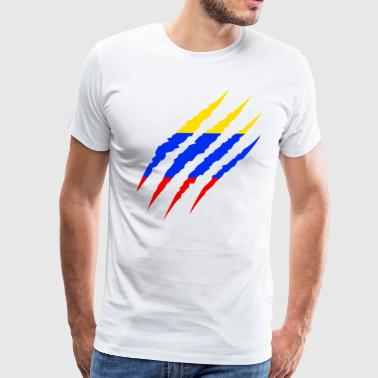 Colombia - Colombian Flag Soccer Fan 2018 - Men's Premium T-Shirt