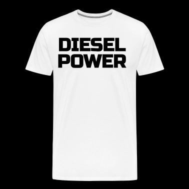 Diesel Power Diesels Roll Coal Roll Coal Trucker 4X4 Black - Men's Premium T-Shirt