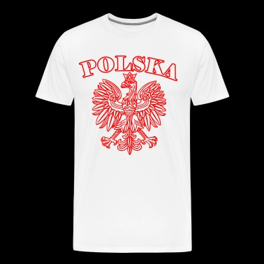 Polska - Men's Premium T-Shirt