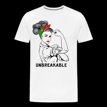 Portuguese Girl Unbreakable - Men's Premium T-Shirt
