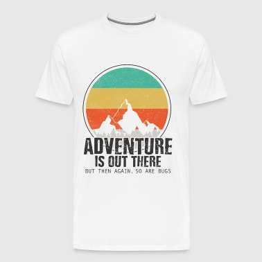 Adventure Camping Outdoor Nature Funny Gift - Men's Premium T-Shirt