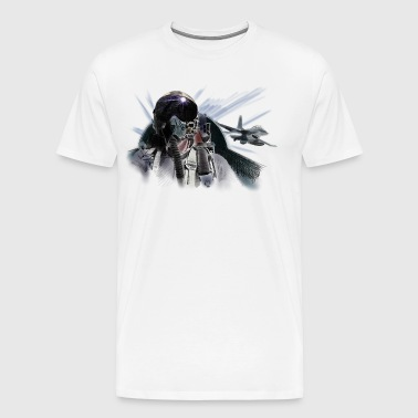 Fighter pilot - Men's Premium T-Shirt
