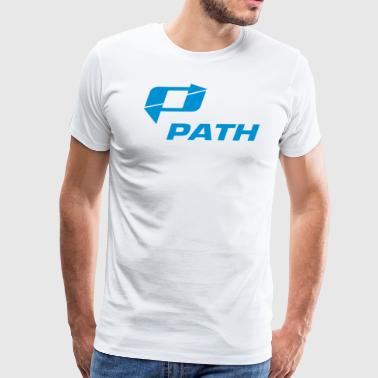 PATH - Men's Premium T-Shirt