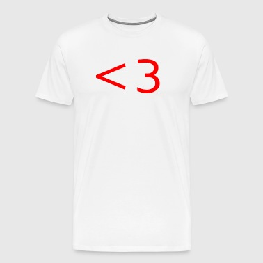 RED HEART - Men's Premium T-Shirt