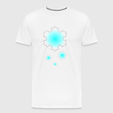 Koch snowfall - Men's Premium T-Shirt