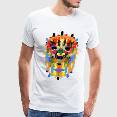 inca mask - Men's Premium T-Shirt