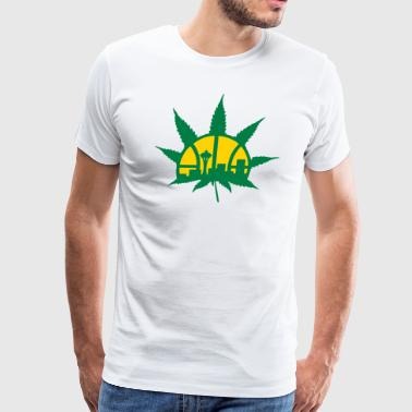 Seattle superponics - Men's Premium T-Shirt