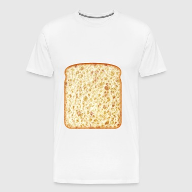 a piece of bread - Men's Premium T-Shirt