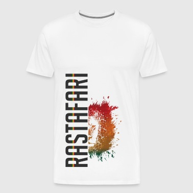 rastafari lion - Men's Premium T-Shirt
