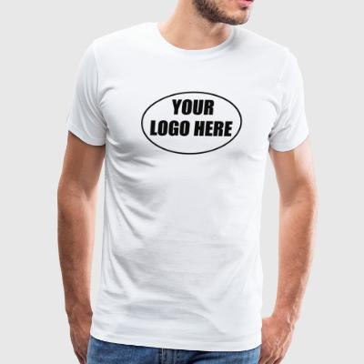 YOUR LOGO HERE - Men's Premium T-Shirt