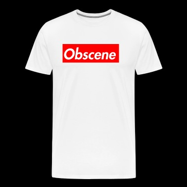 Obscene - Men's Premium T-Shirt