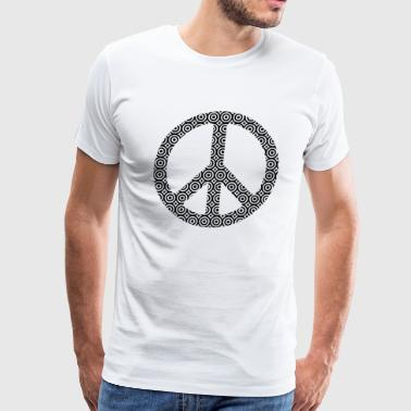 Peace Sign T-Shirt - Men's Premium T-Shirt
