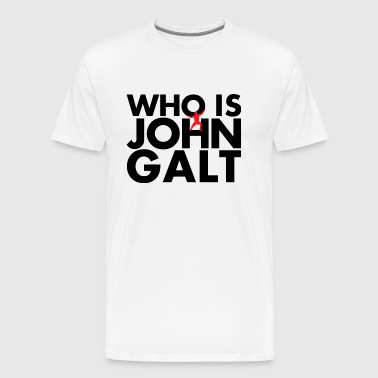 who is john galt - Men's Premium T-Shirt