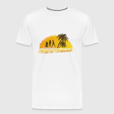 Anchorman Whore Island - Men's Premium T-Shirt