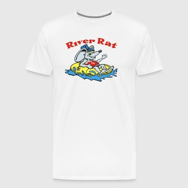 River Rat Swim - Men's Premium T-Shirt