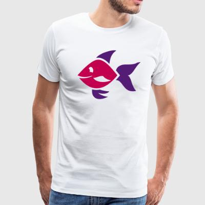 Fish - ornamental fish - aquarium - Men's Premium T-Shirt