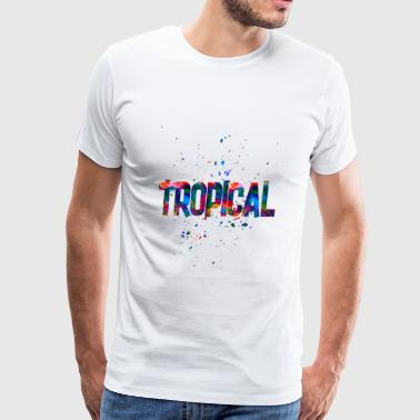 tropical - Men's Premium T-Shirt