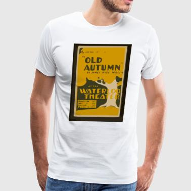 Federal Theater Presents Old Autumn - Men's Premium T-Shirt