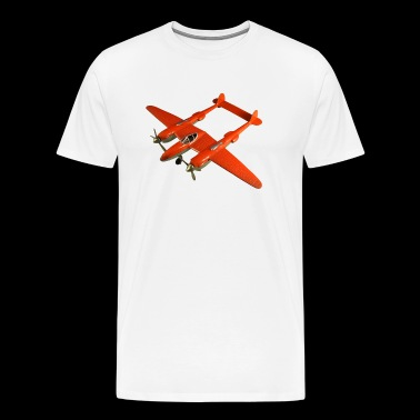 Hubley all metal Lockheed P 38 - Men's Premium T-Shirt