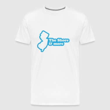 New Jersey - The Shore and More - Men's Premium T-Shirt
