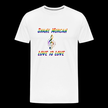 Shane Morgan Love is Love - Men's Premium T-Shirt