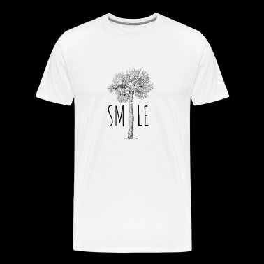 SMILE PALM - Men's Premium T-Shirt