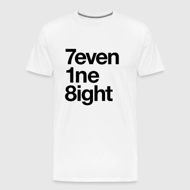 718 Area Code - Men's Premium T-Shirt