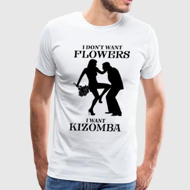 i want kizomba - Men's Premium T-Shirt