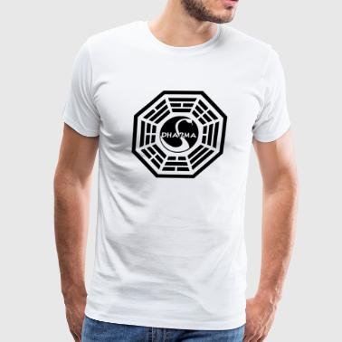 Dharma Initiative Funny T shirt - Men's Premium T-Shirt